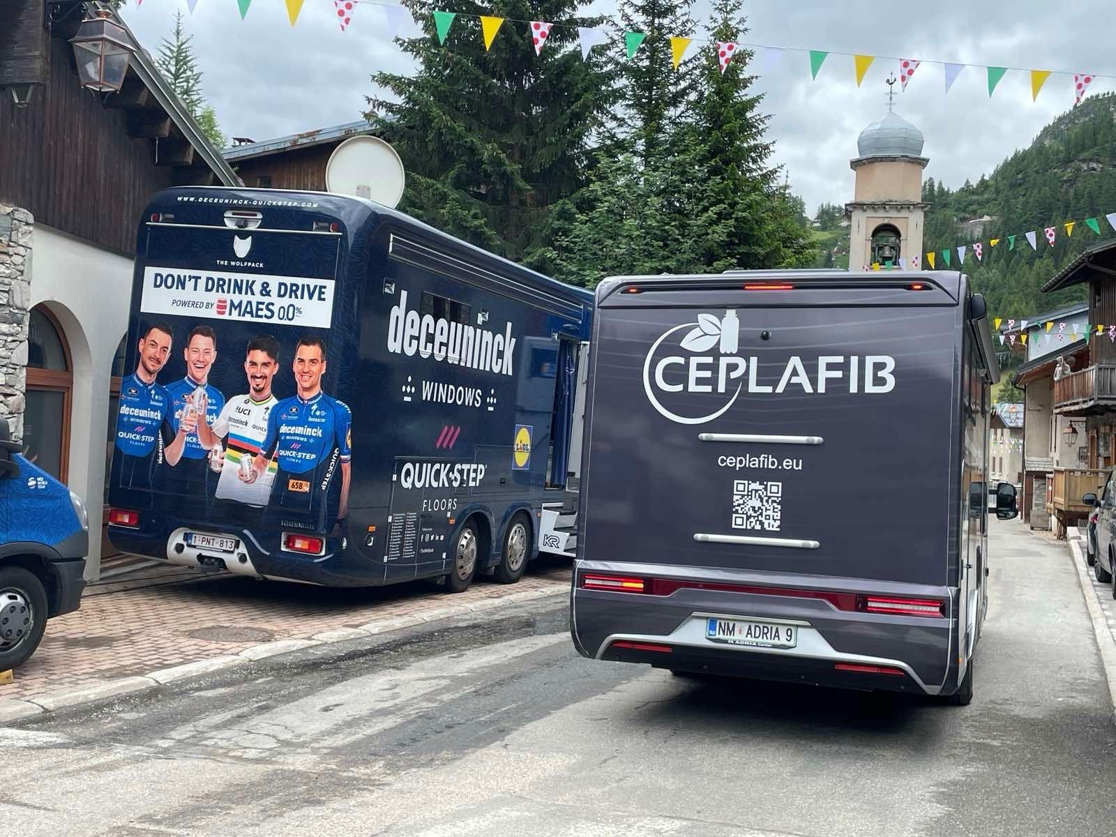 Motorhome Ceplafib Tour France